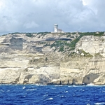 corse en camping car bonifacio lighthouse