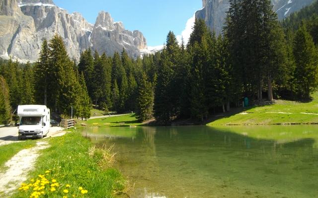 Italie du nord en camping car