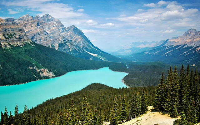 Voyage et Road-trips au Canada : Autotour voiture , cabriolet, vans au Canada