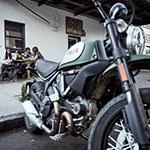 voyage moto usa en Californie en Scrambler