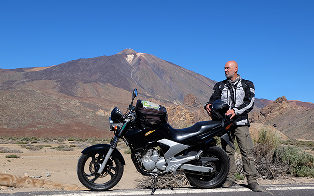 planet ride recit voyage moto canaries laurent