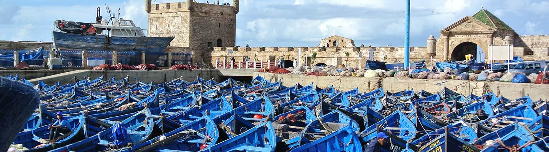 camping car maroc barque