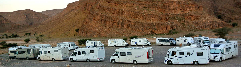 itinéraire maroc camping car