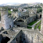 angleterre en camping car architecture conwy