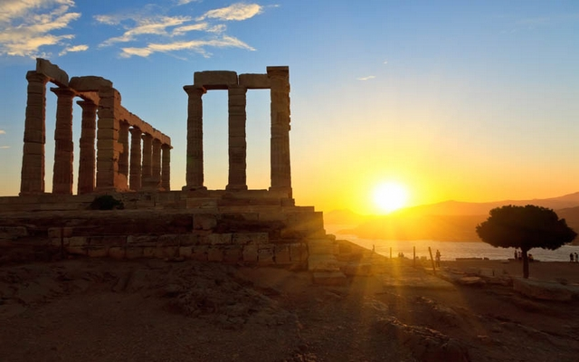 planet ride voyage camping car grèce architecture ruines