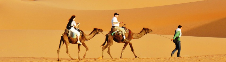 camping car au maroc desert