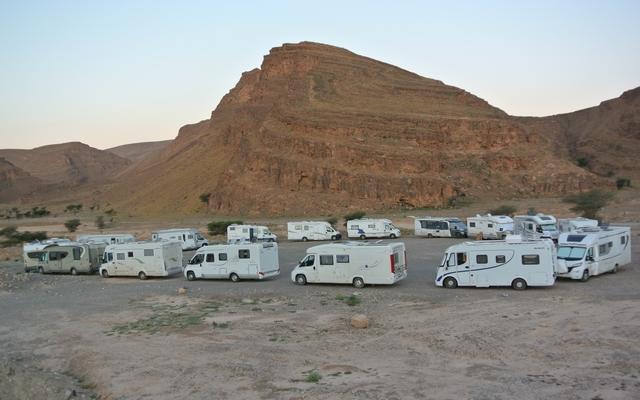 itinéraire maroc en camping car