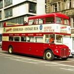 ecosse en camping car ville bus tourisme