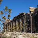 camping car maroc volubilis ruins