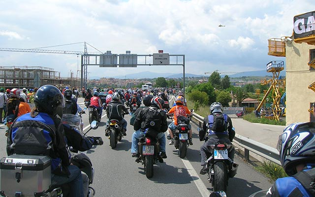Voyage moto en Espagne pour le grand prix de Catalunya