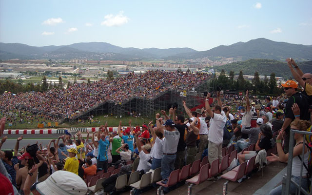 Voyage moto en Espagne pour le grand prix de Catalogne