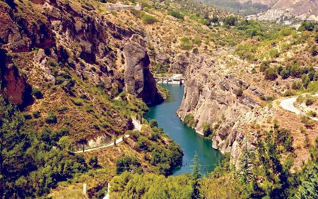 planet ride voyage voiture andalousie paysage routes cours d'eau