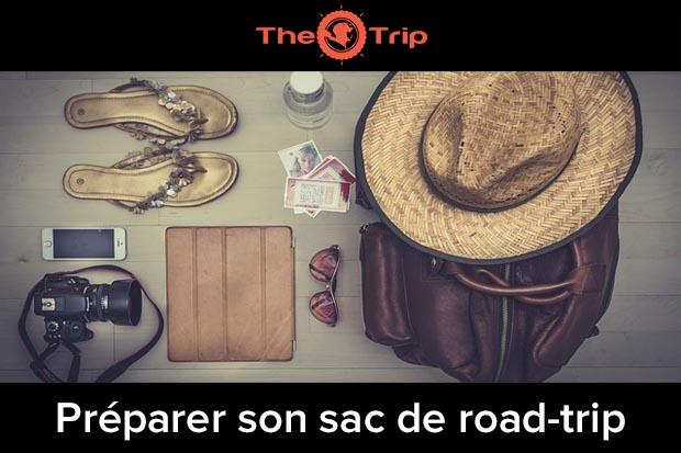 preparer son sac de voyage road-trip
