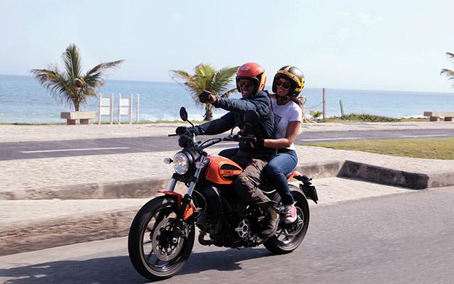 Voyage moto USA avec un Scrambler en Californie
