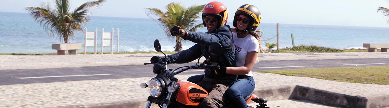 Voayeg a moto aux USA en Californie
