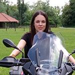 Ana - Croatia - Motorcycle
