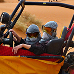 Alexis - Maroc - buggy