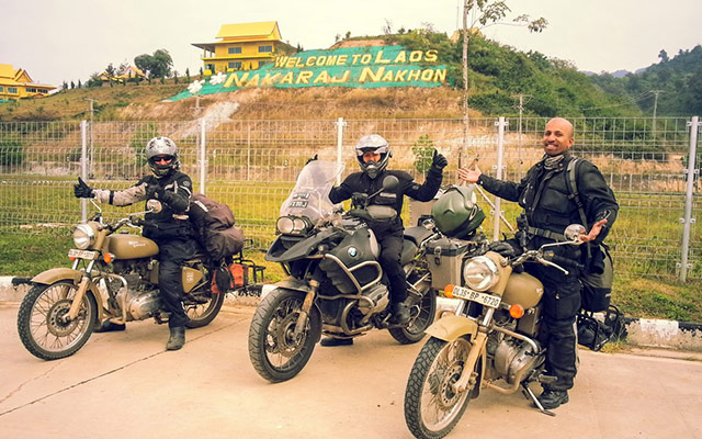 planet ride new delhi vientiane moto 7400 km transcontinentale jay