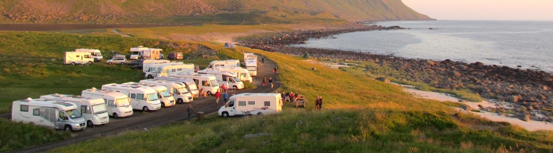 planet-ride-voyage-norvège-camping-car-cap-nord-coucher-soleil