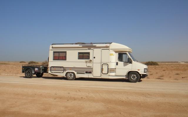mauritanie aventure en camping car