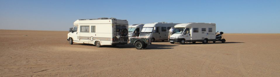 raid mauritanie camping car