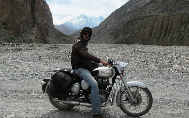 Conduire moto nepal