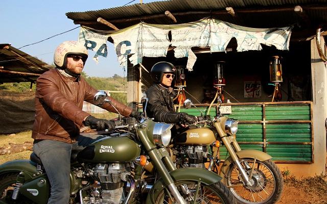Conduire moto en thailande