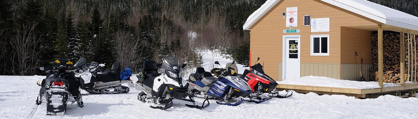 scooters des neiges au canada