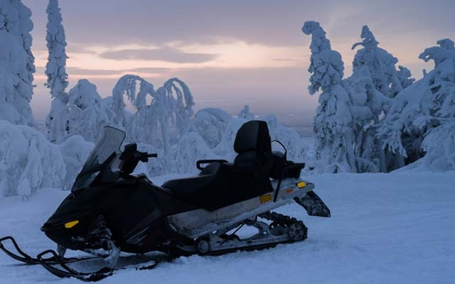 Motoneige Québec avec Planet Ride