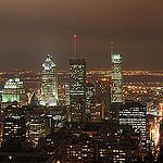 Départ du circuit motoneige Montréal