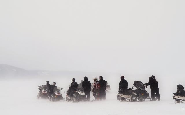 aventure motoneige à la conquete du fjord saguenay