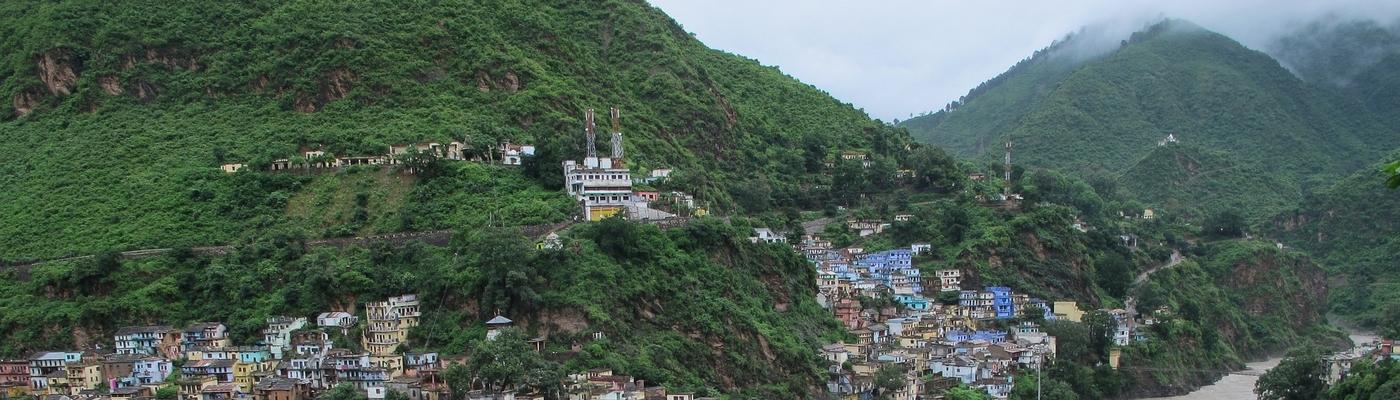 Himalaya en moto en Inde