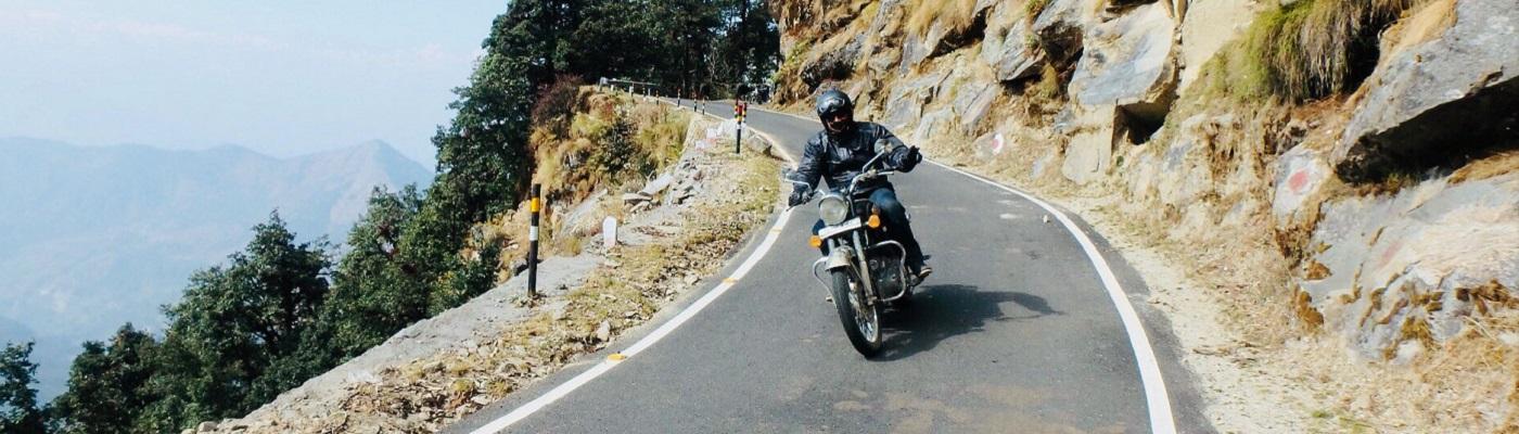 himalaya en moto