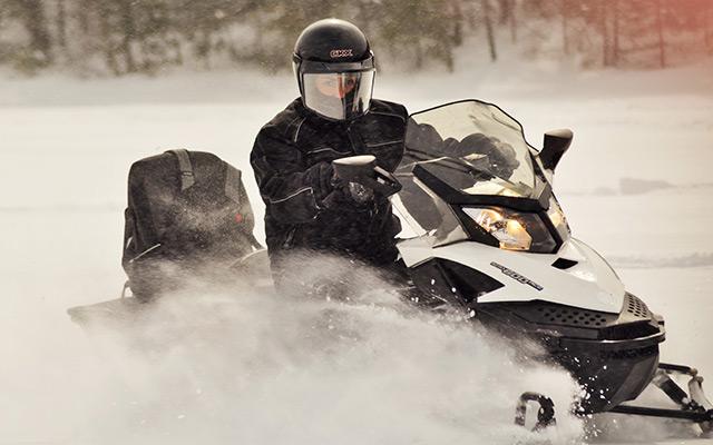 Circuit motoneige Canada