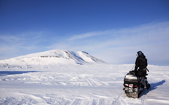 Voyage Snowmobile avec Planet Ride