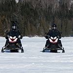 Scooter des neiges au canada
