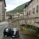 Motorcycling in Italy