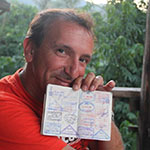 Thierry - Cambodge - moto