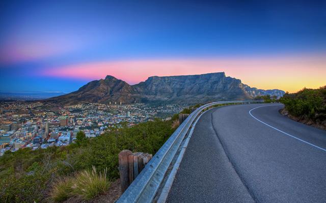 Safari en Afrique du Sud coucher de soleil