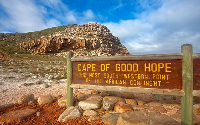 afrique du sud planet ride cape de bonne espérance