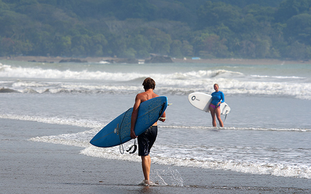planet ride costa rica plage surf