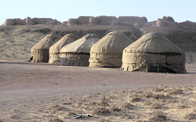 yourtes ouzbekistan