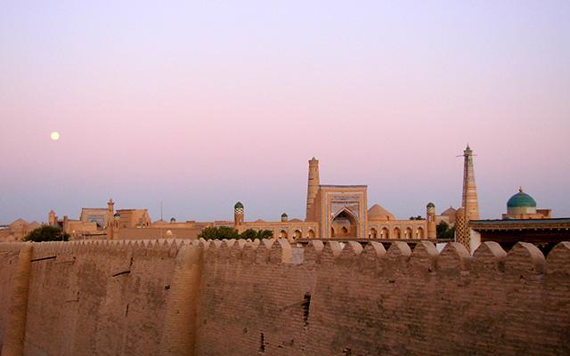 Khiva forteresse circuit ouzbekistan