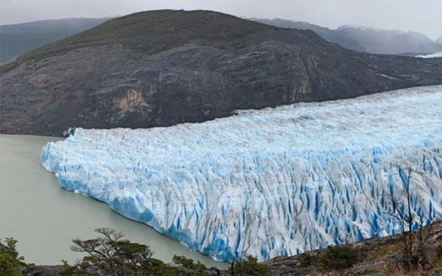 glaciers patagonie en moto