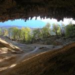 entrée de la grotte de milodon planet ride