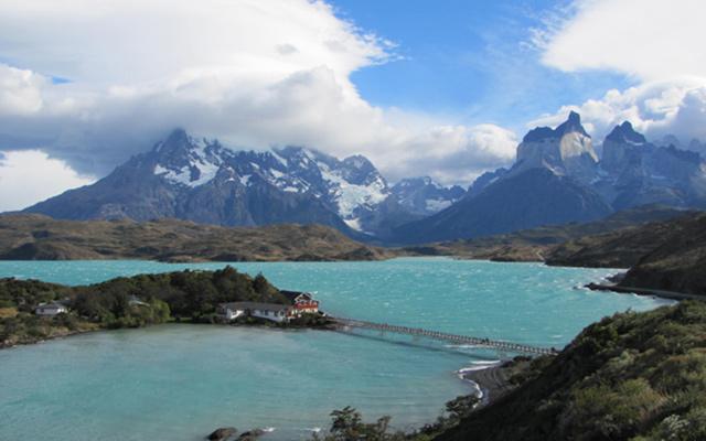lac et montagnes road trip patagonie chili planet ride