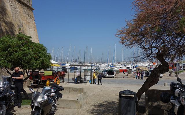 Circuit moto Italie port