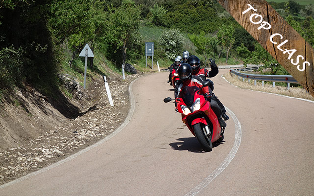 Planet Ride circuit moto Italie