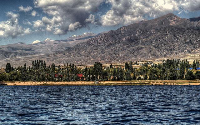 circuit kirghizistan lac yssyk kul