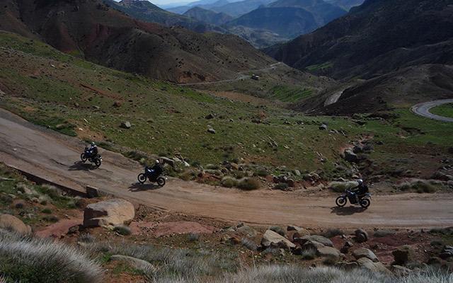 Planet Ride Atlas verdoyant circuit désert Maroc